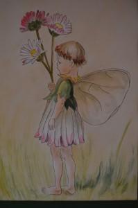 Flower Fairy schilderij