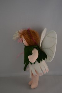 flower fairy side view