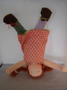 Pippi handstand