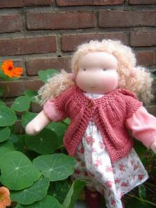 Zanna in de tuin