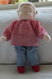Waldorf doll for Siebe