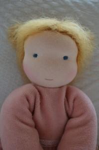 Cuddel doll detail